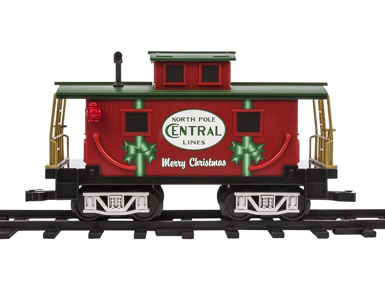 Lionel North Pole Central caboose