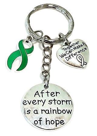 Verde cinta llavero, cerebral palsy conciencia, Trastorno ...