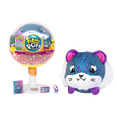 PIKMI POPS JUMBO PLUSH ANIMAL - TIGER: Toys & Games