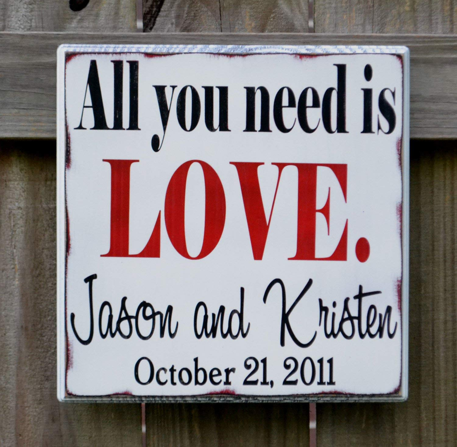 Evan332Eddie All You Need is Love - Cartel de Boda ...