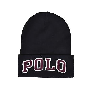 7f7501aa83e Ralph Lauren Bonnet Polo Noir pour Homme  Amazon.fr  Vêtements et ...