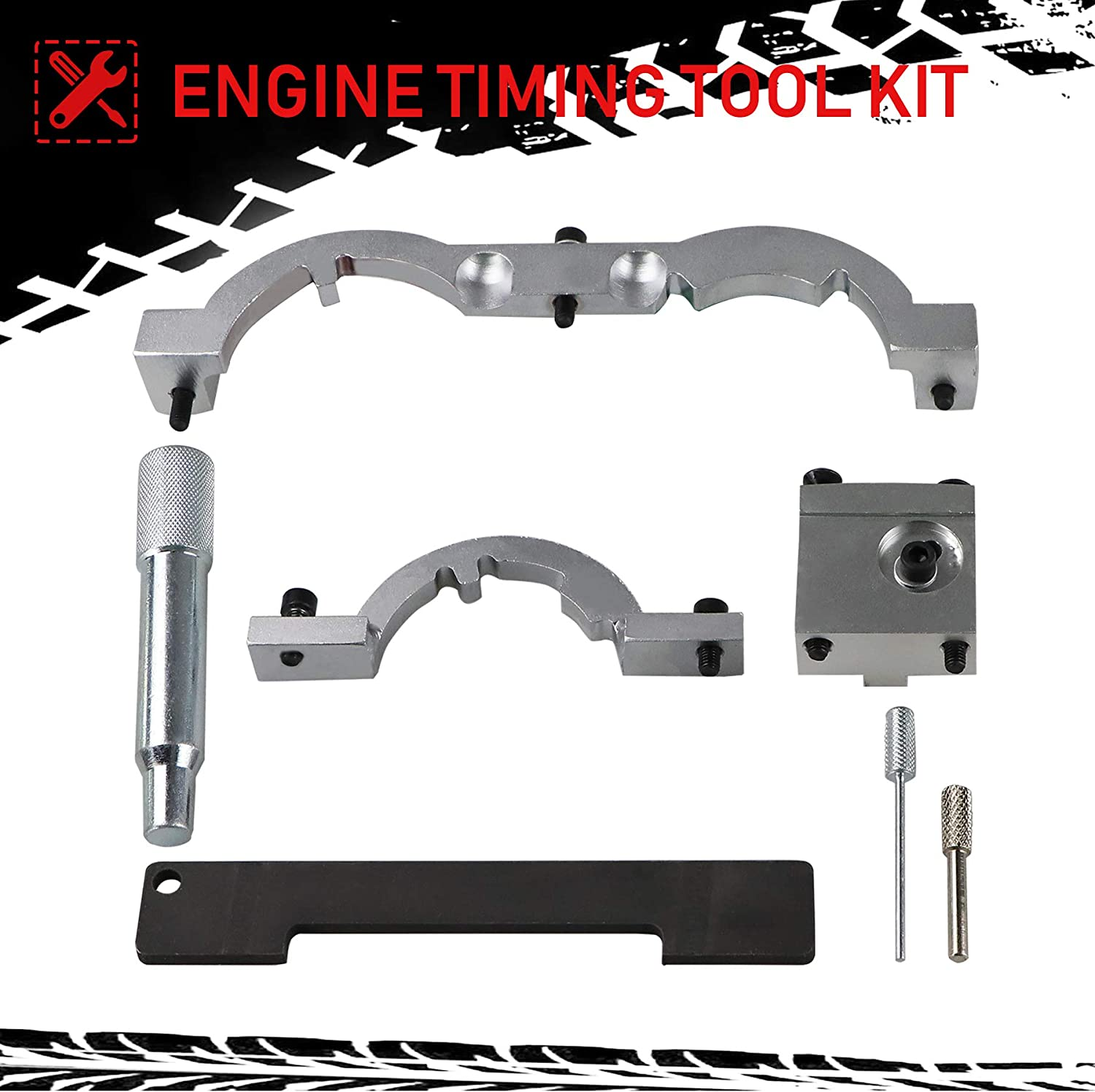 for Timing Chain Replacing Youxmoto Turbo Engine Timing Tool Kit for Vauxhall Opel Chevrolet Cruze 1.0 1.2 1.4 Cylinder Head /& Camshaft Removal