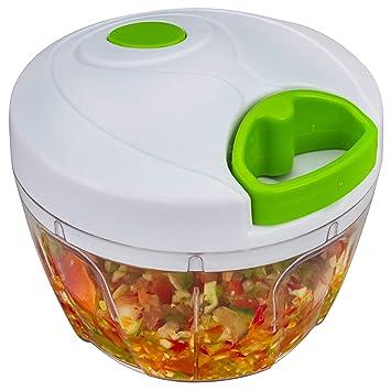Bignay Plastic Chopper Vegetable Cutter, Manual Food Processor Vegetable Chopper, Batidora, Licuadora para