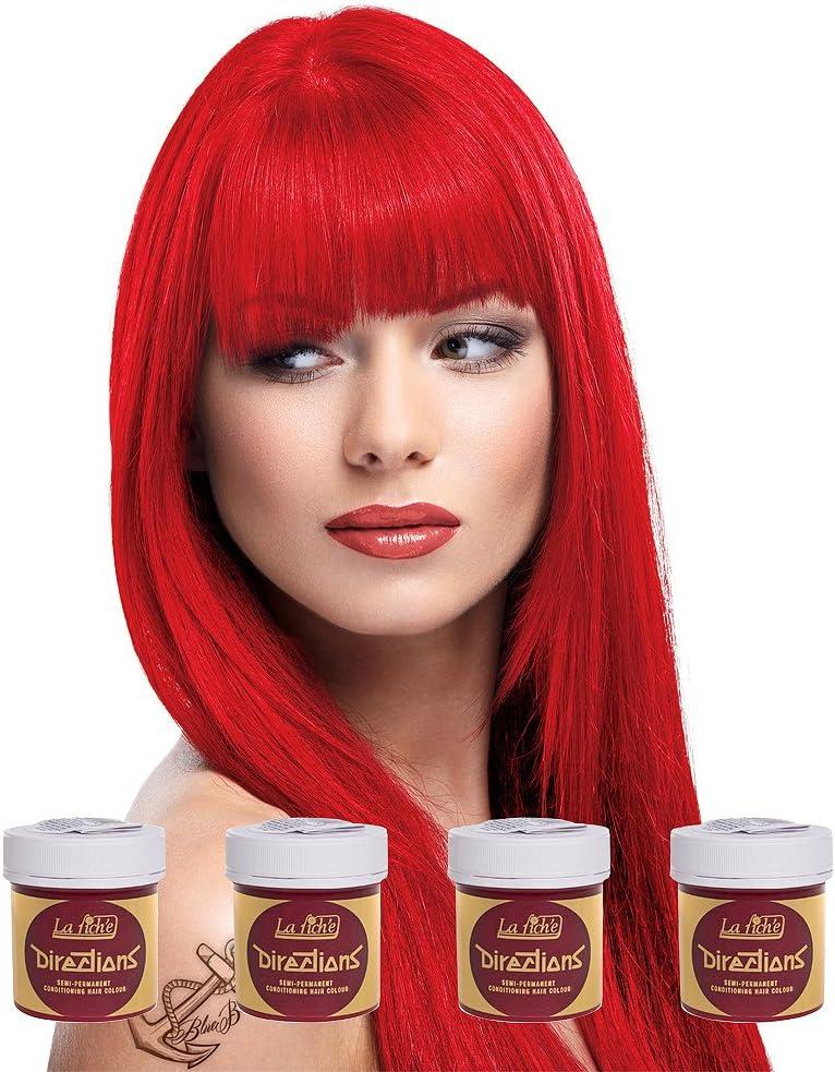 La Riche Fire Hair Colour x 4