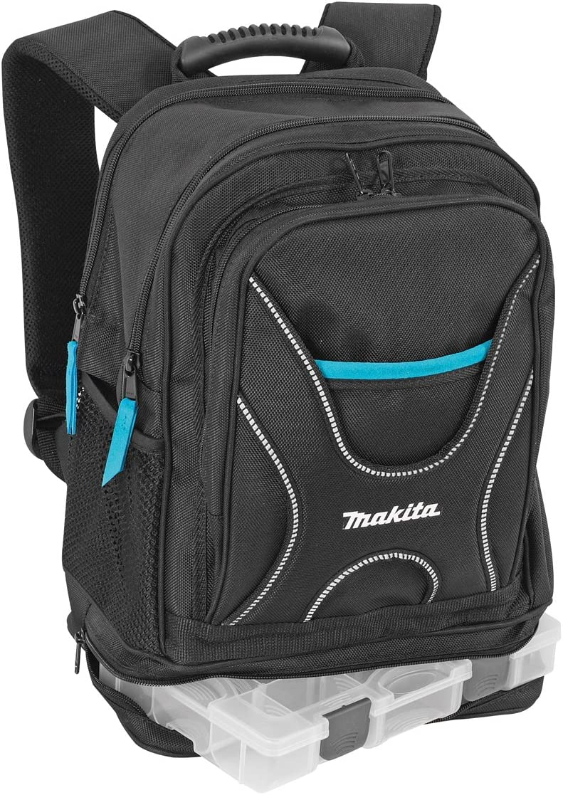 Makita P-72017 Professional Tool Rucksack with Organizer New Toolbag for Pro