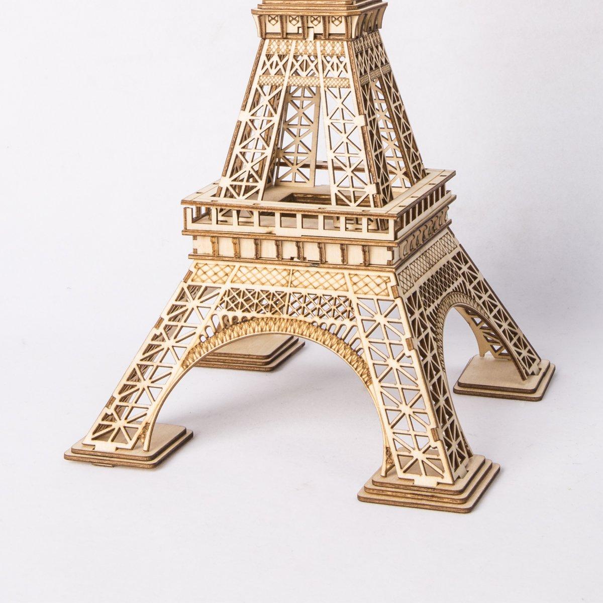 Airplane Rolife Woodcraft Construction Kit Puzzle en Bois 3D Cadeau de Jouet maquettes en Bois pour Enfants Adultes