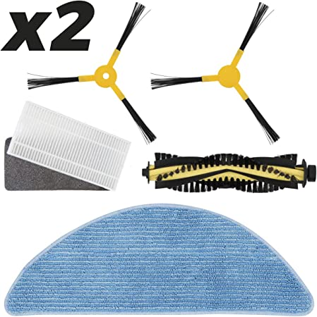 IKOHS Pack Repuestos 2 x (Cepillo Derecho + Cepillo Izquierdo + ...