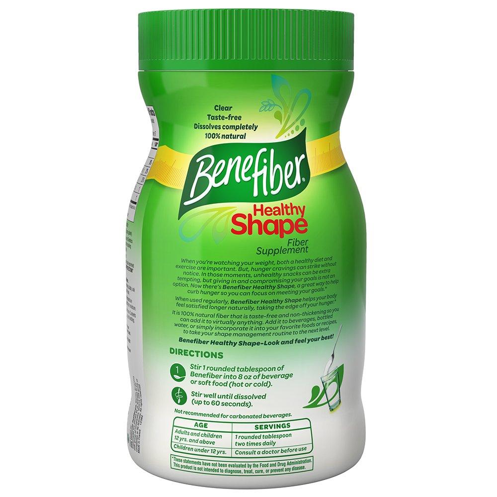 Does Benefiber have more fiber than Metamucil?