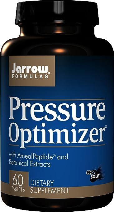 Jarrow Formulas Pressure Optimizer, Supports Cardiovascular Health, 60  Easy-Solv Tabs