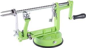 Apple Spiral Peeler Slicer Corer(Green)