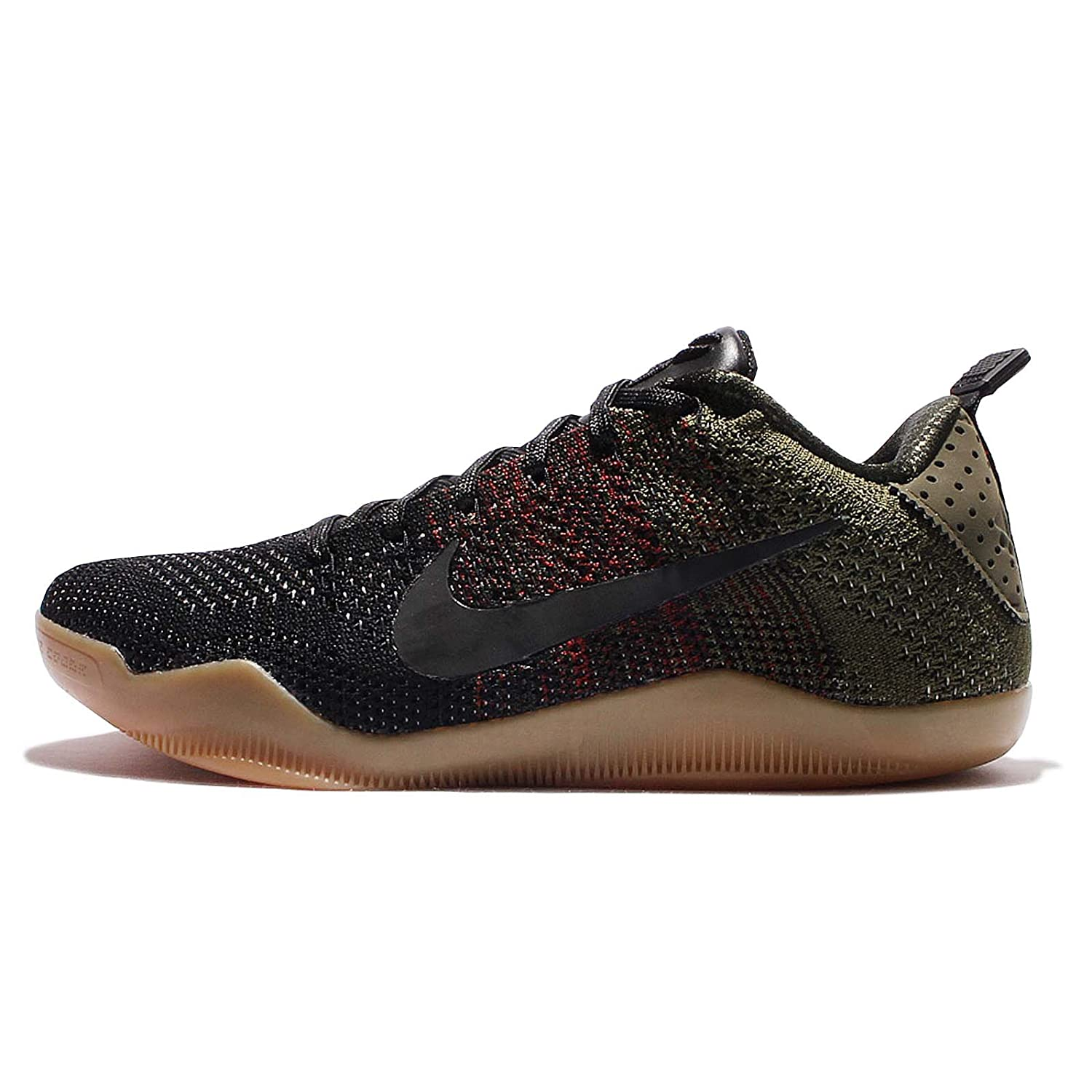 best sneakers 642be 4a21f Amazon.com   Nike Men s Kobe XI Elite Low 4KB, BLACK HORSE-BLACK TEAM RED-ROUGH  GREEN, 12 M US   Shoes
