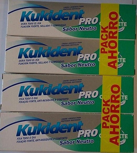 Cryma Banos.Pack 4 Kukident Pro Sabor Neutro
