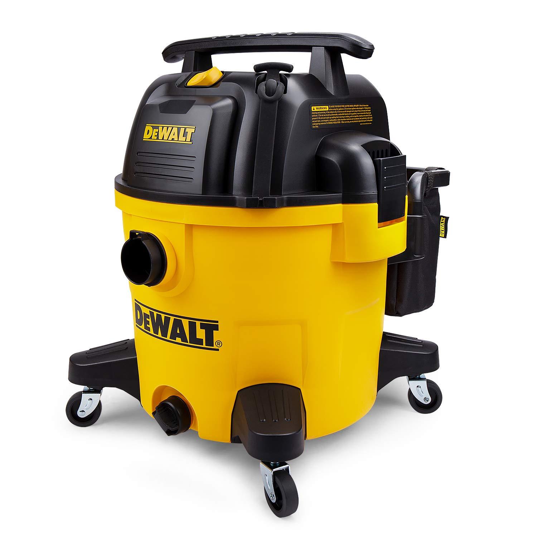 DeWALT DXV10P 10 gallon Quiet Poly Wet Dry Vacuum Yellow by DEWALT