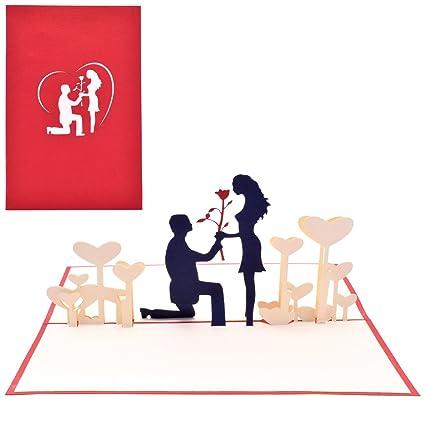 Yolopop valentine gifts for girlfriend boyfriend handmade love yolopop valentine gifts for girlfriend boyfriend handmade love proposal pop up greeting card m4hsunfo