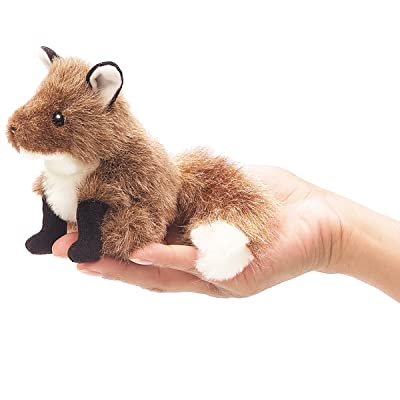 Folkmanis Mini Fox Finger Puppet: Toys & Games