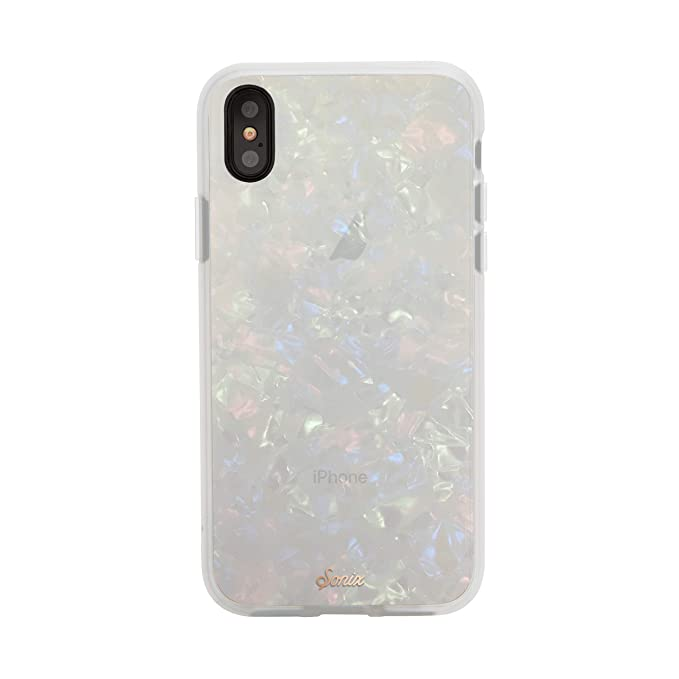 free shipping d35a3 cbcdd Sonix Pearl Tort (Tortoiseshell) Cell Phone Case [Military Drop Test  Certified] Protective Luxe Tortoise Shell Series for Apple iPhone X, iPhone  Xs