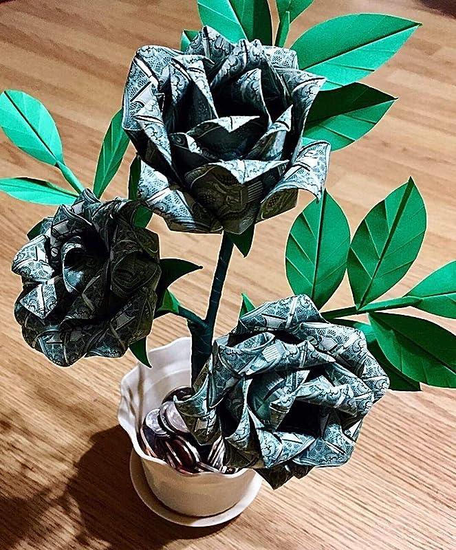 Money Origami Rose | LoveToKnow | 800x663