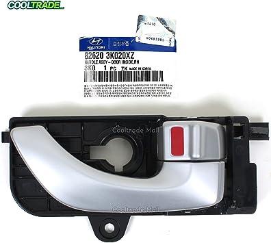 Amazon Com Genuine For 06 08 Hyundai Sonata Inside Door Handle Front Right Oem 826203k020xz Automotive