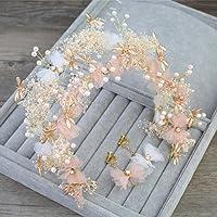 Bride guirnalda guirnalda de pelo accesorios de flor