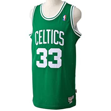 Adidas Basketballtrikot Larry Bird Swingman Green Road - Camiseta de baloncesto para hombre, color verde, talla M: Amazon.es: Deportes y aire libre