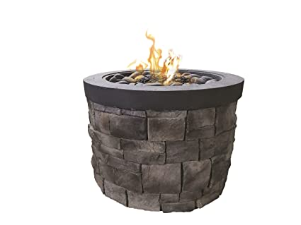 Bay Pointe Outdoors Urban Series Otter Creek Fire Pit 42u0026quot;