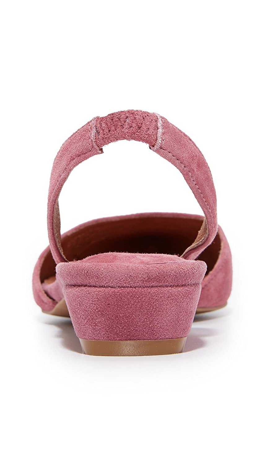 Jeffrey Campbell Women's Shree Suede Flats B071G3NGBT 6 B(M) US|Dusty Rose Pink