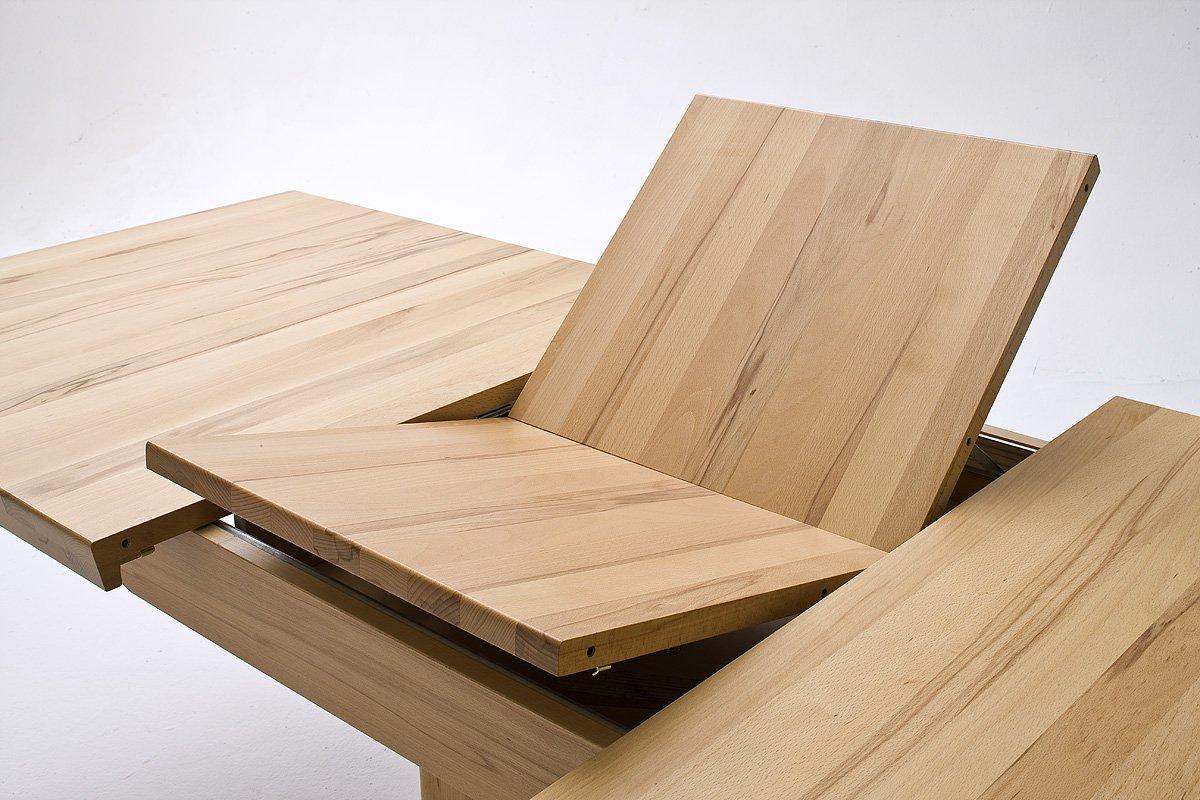 Robas Lund, Tisch, Esszimmertisch, Säulentisch, Bergamo, ausziehbar ...