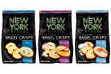 New York Style Bagel Crisps PLAIN, SEA