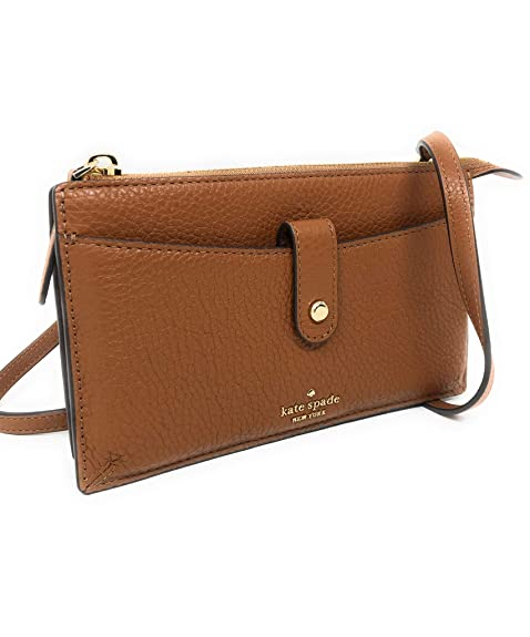enjoy clearance price 2019 discount sale bright n colour Amazon.com: Kate Spade New York Small Tab Leather Crossbody ...