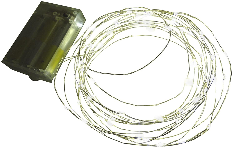 Led Lichterkette Batterie mit Timer 60 Leds Micro Tropfen auf ...