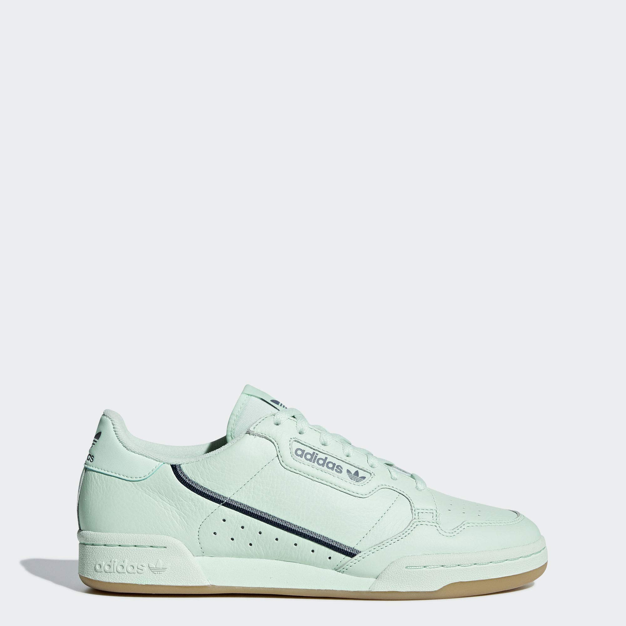 adidas Originals Men's Continental 80 Sneaker Ice mint/collegiate Navy/Grey 10 Medium US by adidas Originals
