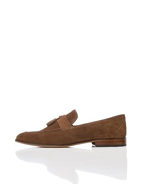Find Zapatos de Ante para Hombre, Azul (Navy), 41 EU