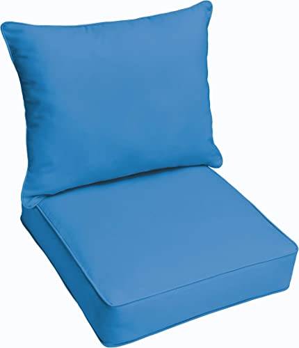 Reviewed: Mozaic AZPC4959 Indoor or Outdoor Sunbrella Deep Seating Cushion Pillow Set