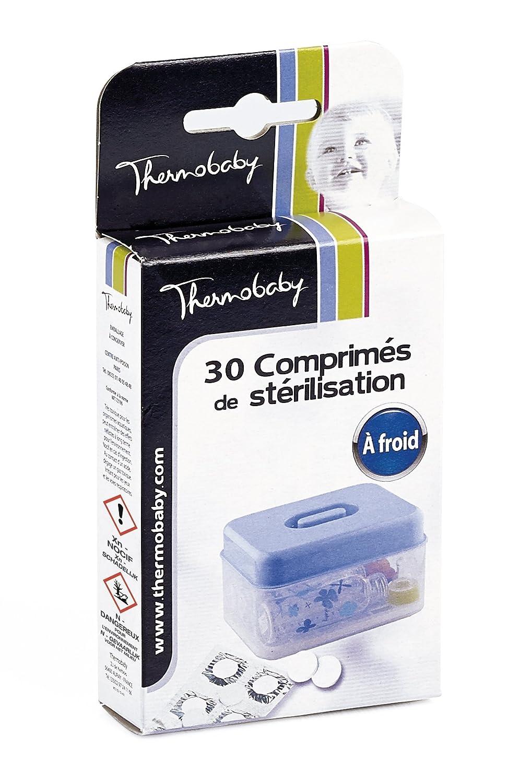 THERMOBABY Boite de 30 Comprimes de Stérilisation à Froid Blanc 2190501