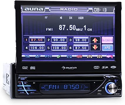 Auna MVD-260 Autorradio con Pantalla tactil 7