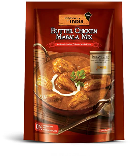 kitchens of india butter chicken masala mix 80g amazon in grocery rh amazon in kitchens of india butter chicken walmart kitchens of india butter chicken slow cooker