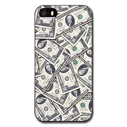 finest selection 28a8a 4dacc Amazon.com: Night J Cool Case for iPhone 5S - Dollar Money Flexible ...