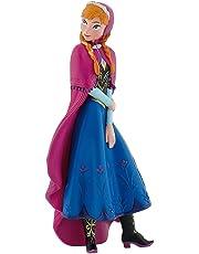 Bullyland 12960 - Spielfigur, Walt Disney Die Eiskönigin, völlig unverfroren, Anna, ca. 9,5 cm