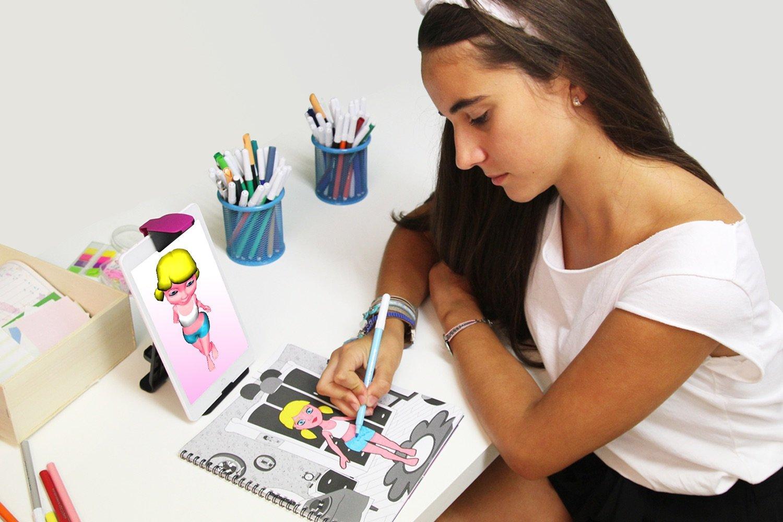 Juego de Dise/ño de Moda Virtual Creativo Interactivo Educativo Holodraw Fashion MAHEI WHATS NEXT