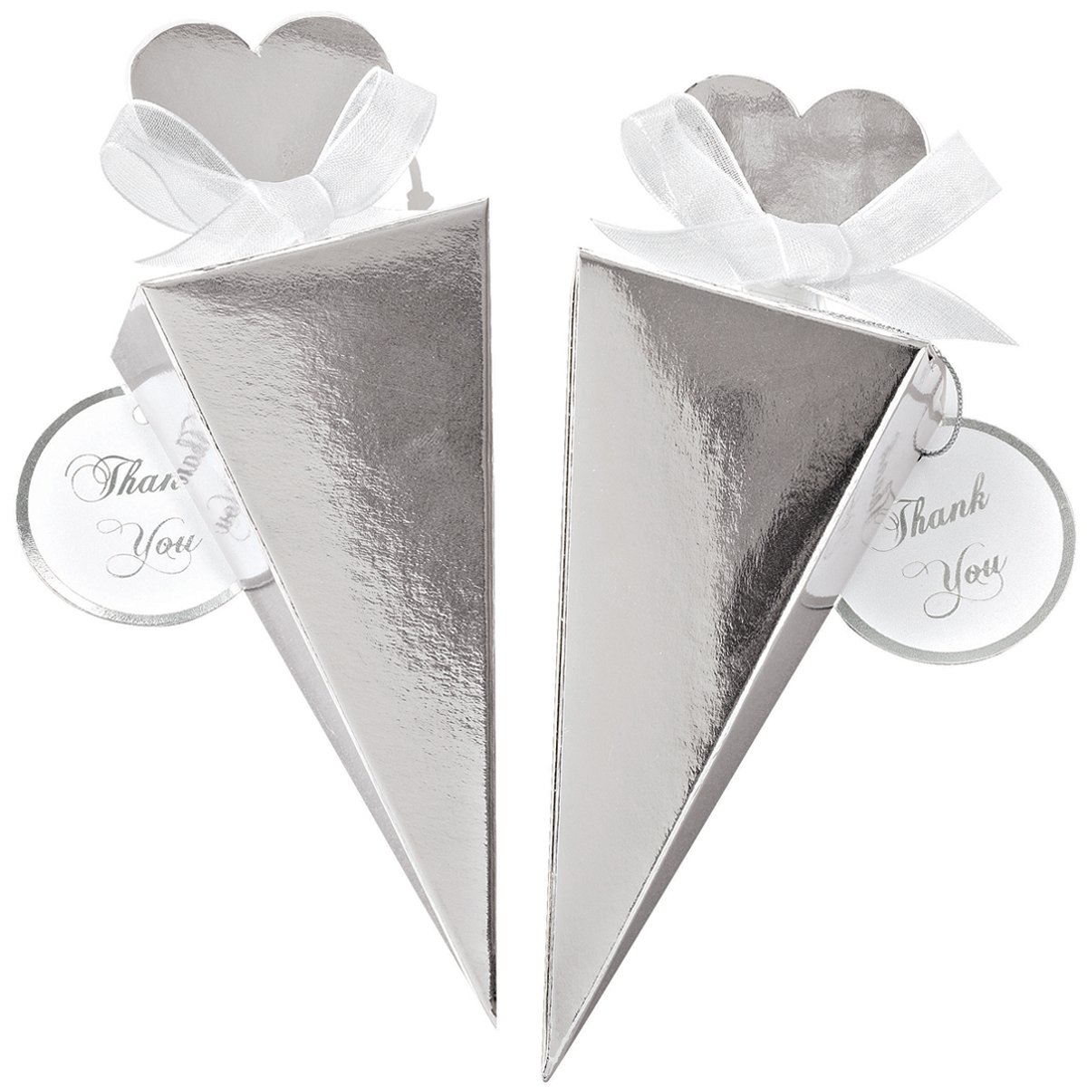 Amazon.com: Wilton Cone Favor Kit, Silver: Kitchen & Dining