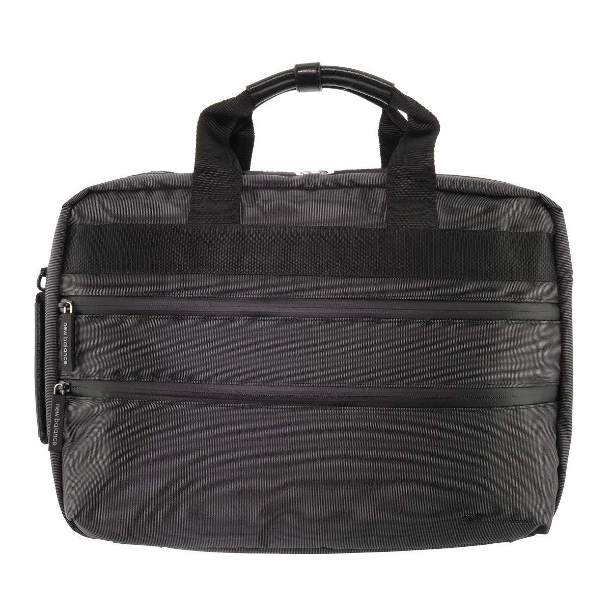 [ニューバランス] ブリーフケース 3WAY A4 ビジネスバッグ メンズ 12100003 ブラック - B07N88VZQ3