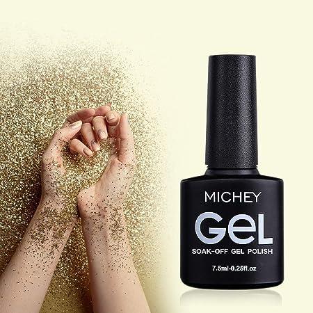 Amazon.com: Esmalte de uñas de gel UV, kit de esmalte de ...