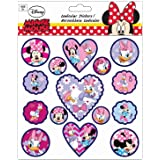 Planche de Stickers Minnie Autocollant Disney 18 x 23 cm scrapbooking