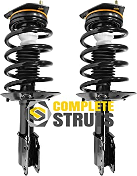 Front Quick Complete Struts Assemblies Compatible with 2000-2011 Chevrolet Impala Pair