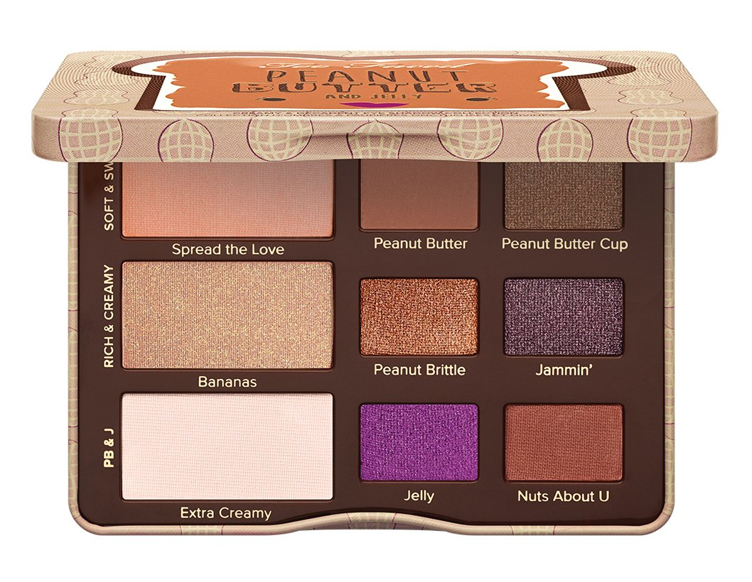 Too Faced Peanut Butter and Jelly Eye Shadow Collection Palette AE110-Palette