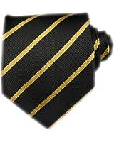 TNS Classic Thin Striped Tie UK - Cufflinks Handkerchief