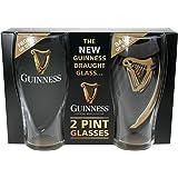 Guinness Embossed Gravity 2pk Pint Glass