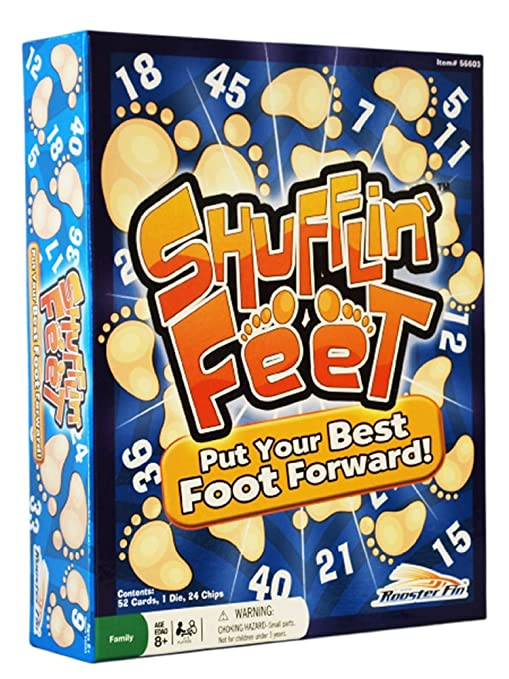 Amazon.com: Shufflin Feet Board Game: Toys & Games