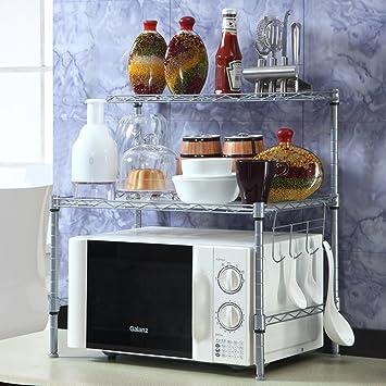 KIU Cocina rejilla del horno microondas/Almacenaje/ sazonado ...
