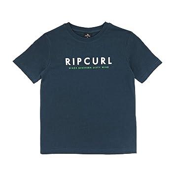 RIP CURL Logo Differents SS tee Camiseta, Niños: Amazon.es: Deportes y aire libre